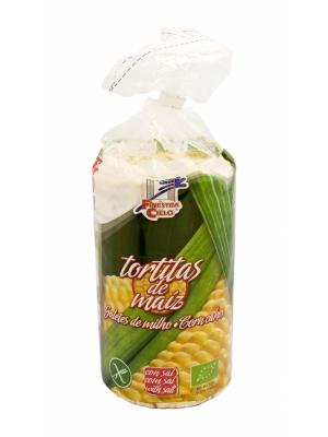 Galetes de milho, sem glúten, biológicas