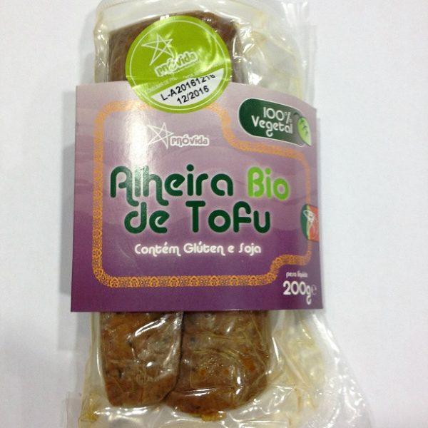alheira de tofu, biológica, próvida