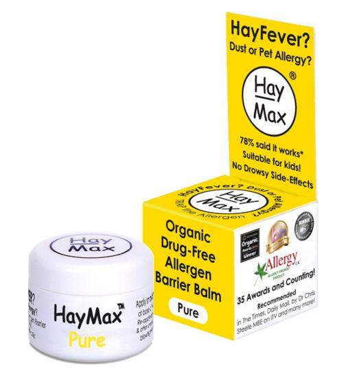 Bálsamo biológico para alergias, HayMax