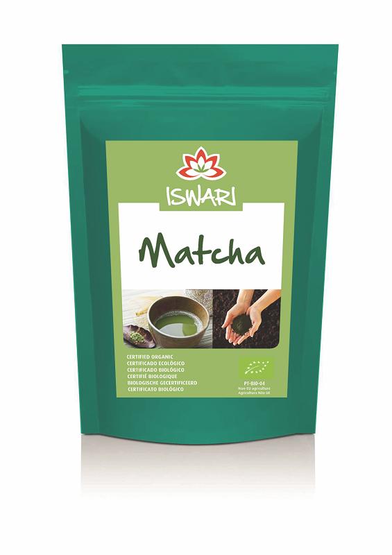 Chá matcha, biológico, iswari