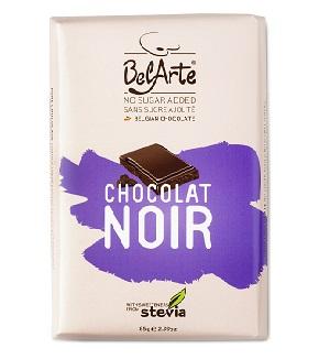 chocolate preto, com stevia, belarte