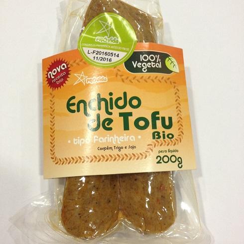 farinheira de tofu, biológica, próvida