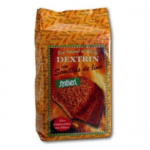 tostas integrais com sementes de linho, Santiveri