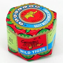 bálsamo de tigre, wild tiger