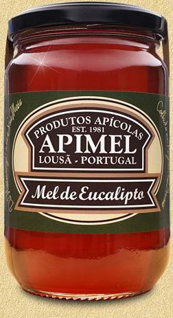 mel de eucalipto, 500g, 100% natural, apimel