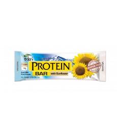 barra proteica c/ semente girassol, s/glúten - OSKRI