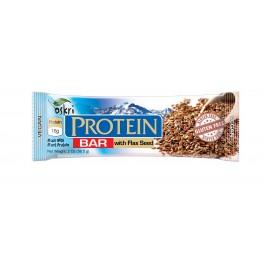 barra proteica c/ linhaça, sem glúten - OSKRI