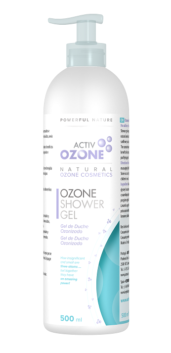 Gel de banho de ozono, 500ml, Activozone