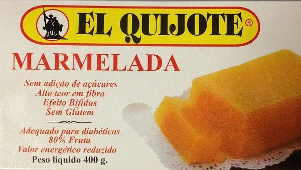 Marmelada para diabéticos, sem glúten