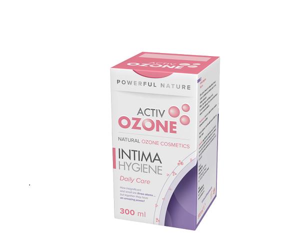 gel de ozono, higiene íntima, 100ml, Activozone