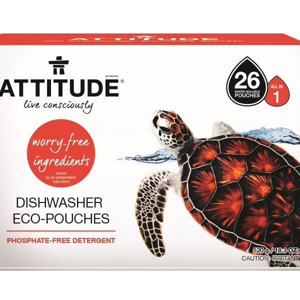 Detergente ecológico para Máquina de Loiça, Attitude