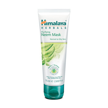 máscara facial anti-acne, himalaya