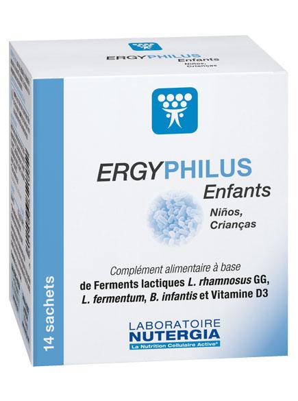 Probióticos ergyphilus crianças, Lab. Nutergia