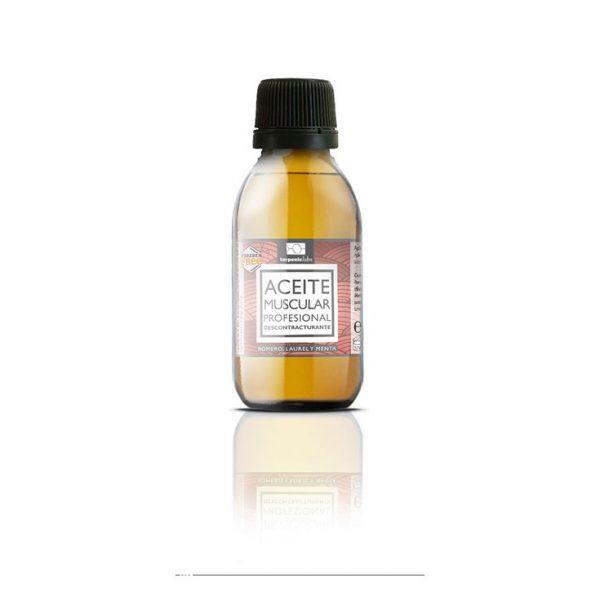 óleo de massagem muscular profissional, 125ml