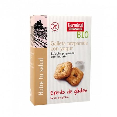biscoitos de iogurte bio, sem gluten, germinal