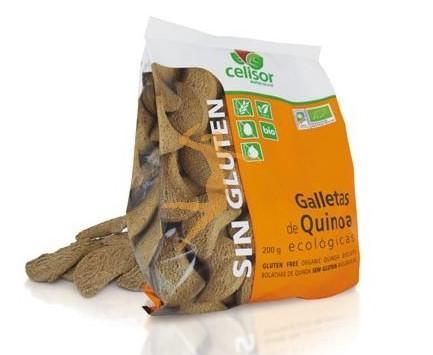 Bolachas de quinoa, sem Glúten, biológicas