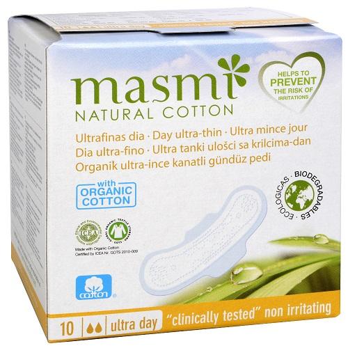 pensos higiénicos em algodão, ultrafinos - dia