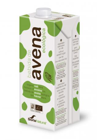 Bebida de Aveia, biológica, 1L - Soria Natural