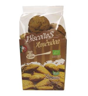 Biscoitos de Amêndoa, biológicos, Próvida