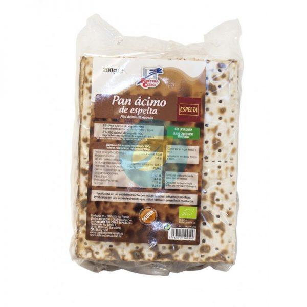 Pão Ázimo de espelta, biológico
