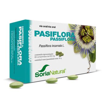 passiflora, comprimidos, soria natural