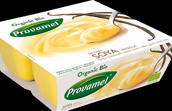 Sobremesa de soja e baunilha, bio - provamel