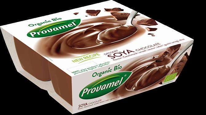 Sobremesa de soja e chocolate, bio - provamel
