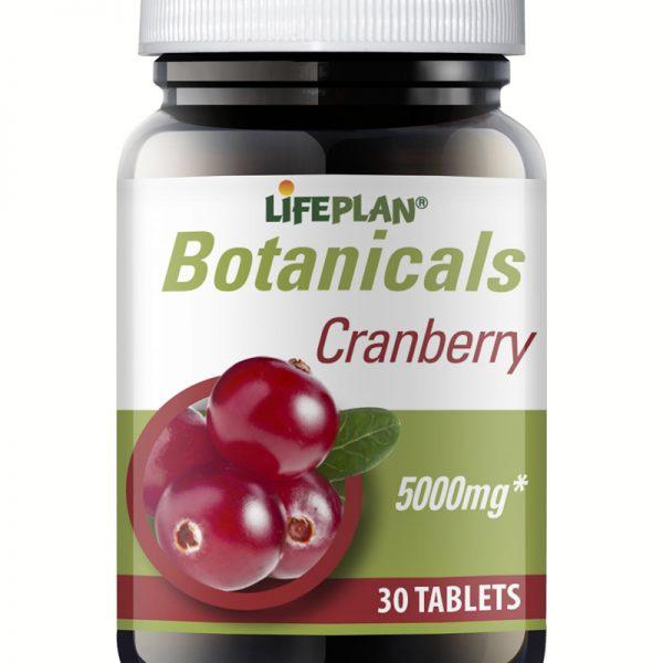 Cranberry, arandos vermelhos em comprimidos