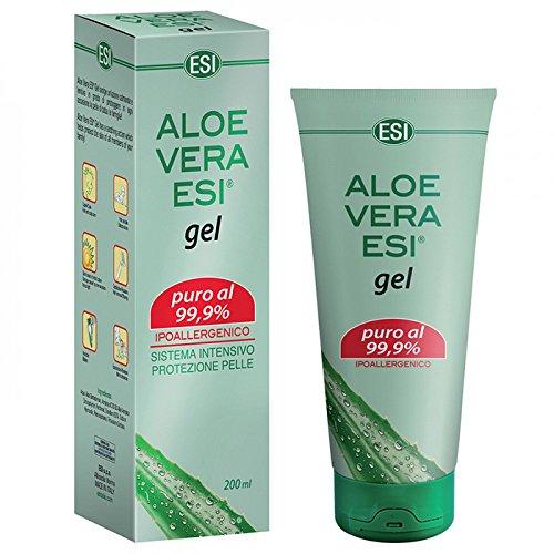 Gel de Aloe Vera, Puro 99.9%, Esi