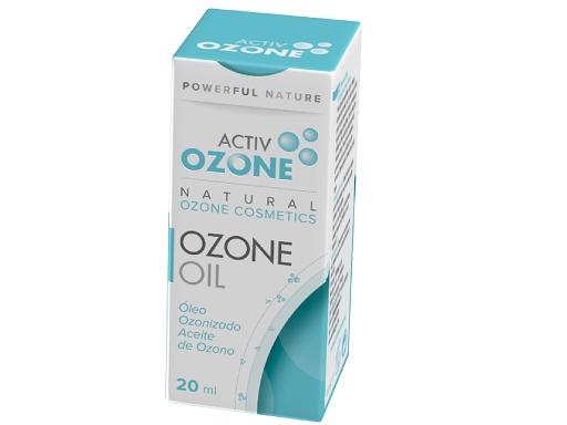 Óleo de ozono com azeite, 20 ml, Activozone