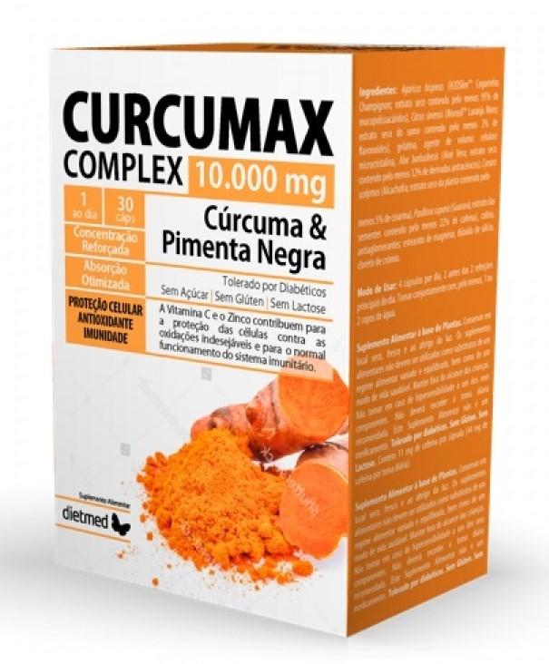 Curcumax - curcuma e pimenta preta, Dietmed