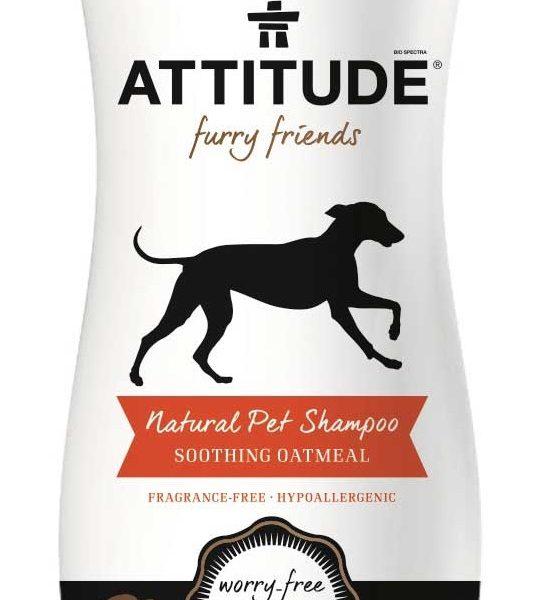 Champô suavizante, para animais, 240ml - Attitude