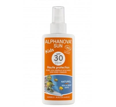 Protetor solar crianças bio, fator 30, Alphanova