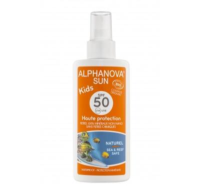 Protetor solar crianças bio, fator 50, Alphanova