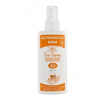 Protetor solar bebé bio, fator 50, Alphanova