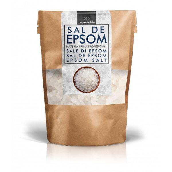 Sal de Epsom (99% magnésio), uso interno, terpenic labs
