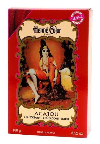 Henné Color pó - acajou (caju) - 100g