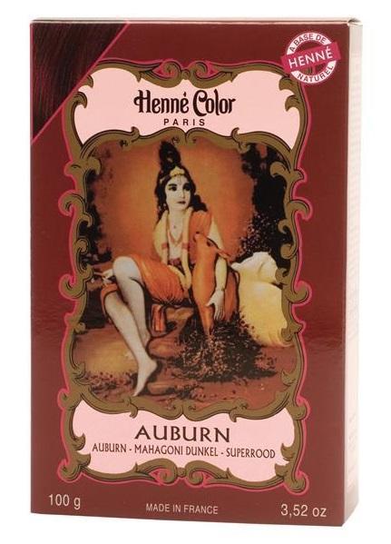 Henné Color pó - auburn (castanho avermelhado)