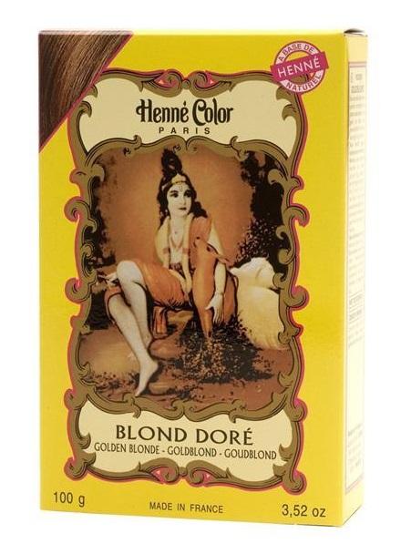 Henné Color pó - blond doré (Louro dourado) - 100g