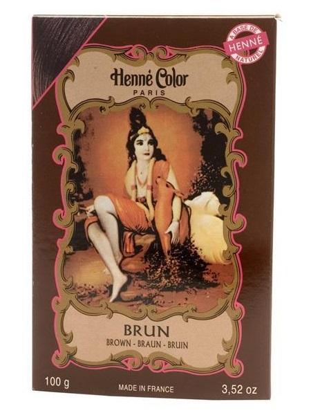 Henné Color pó - Brun (castanho) - 100g