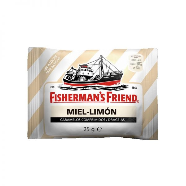 Rebuçados Fisherman's Friend Mel Limão