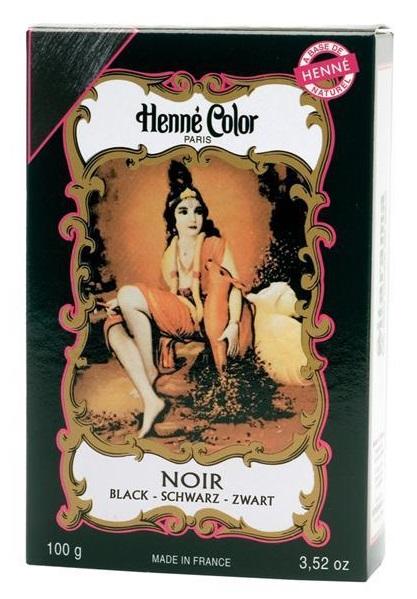 Henné Color pó - Noir (negro) - 100g