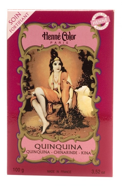 Henné Quinquina, fortificante de cabelo 100g