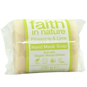 Sabonete natural ananás, manga e lima, faith in nature