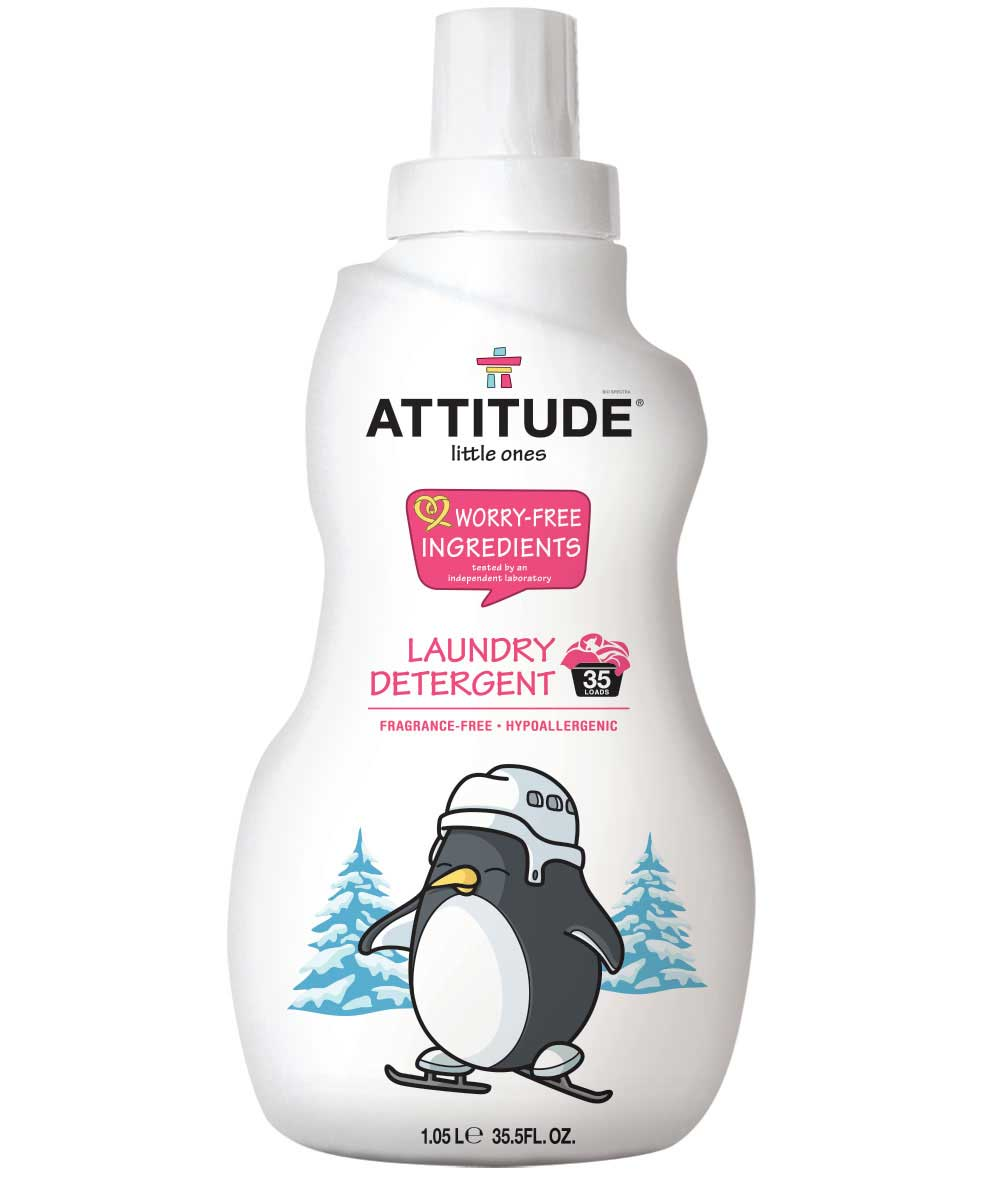 Detergente ecológico Roupa de bebé, Attitude