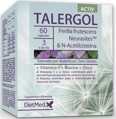 Talergol Activ, alergias respiratórias