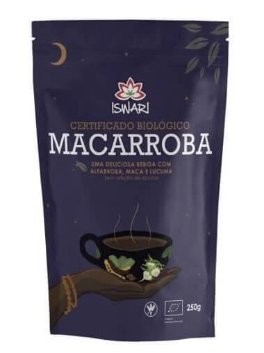 Bebida Macarroba 250g, bio - ISWARI