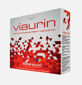 Viaurin, 28 comprimidos, SORIA NATURAL