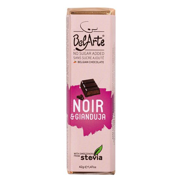 chocolate preto e gianduja, c/ stevia, belarte