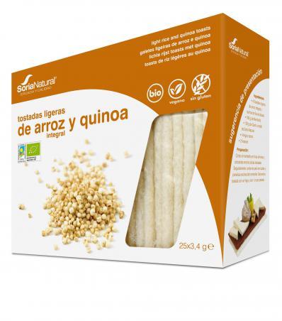 galetes arroz integral e quinoa, sem glúten